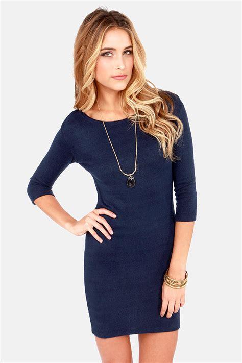 navy sweater dress blue dress sweater dress 37 00
