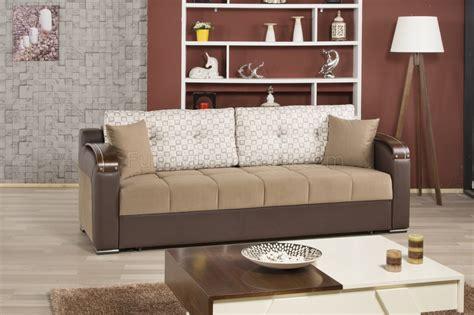 divan deluxe signature sofa bed  dark beige fabric  casamode