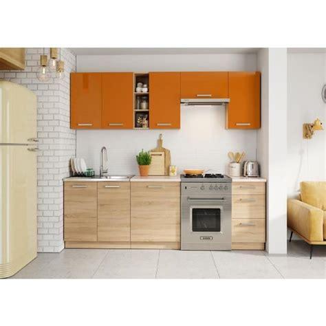 cuisine orange stunning meuble cuisine orange gallery design trends