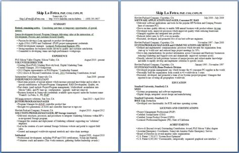 Certified Scrum Product Owner Resume by About Skip La Fetra P E Pmp Csm Cspo