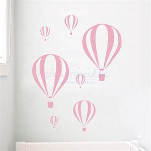 hot air balloon wall stickers peenmediacom With beautiful hot air balloon wall decals