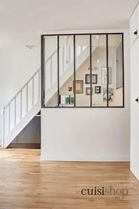 Escalier En U : cuisine sous escalier en u moderne escalier paris ~ Farleysfitness.com Idées de Décoration