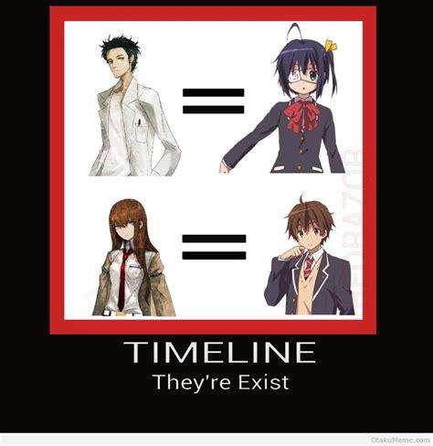 Steins Gate Memes - otaku meme 187 anime and cosplay memes 187 chunibyou x steins s gate