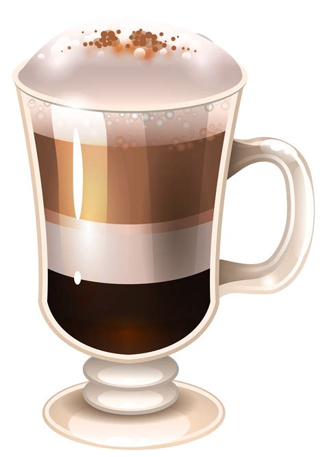 library  irish coffee graphic stock png files clipart