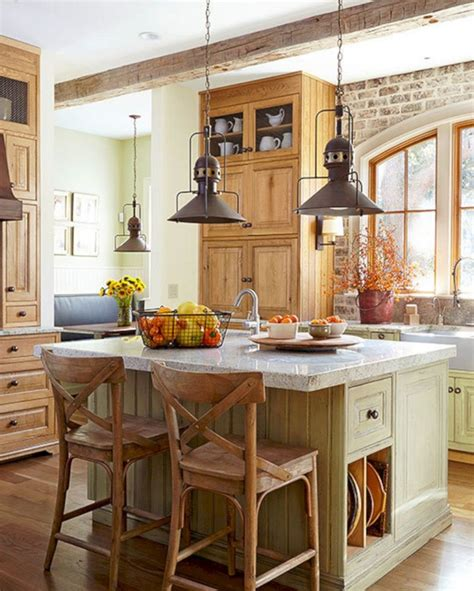 kitchen ideas 24 farmhouse rustic small kitchen design and decor ideas Farmhouse