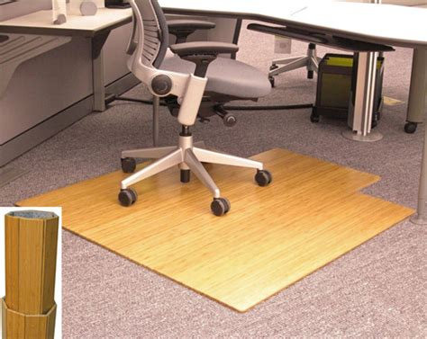 amb24010 anji bamboo desk chair mat 245 00 48 x