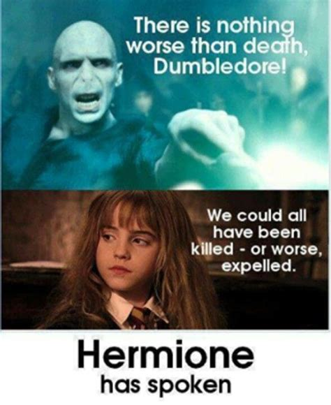 Hermione Granger Memes - be expelled is horrible harry potter pinterest harry potter hermione and fandoms