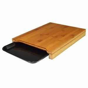 Planche A Decouper : planche d couper avec plateau en bambou noir noir n 0 leroy merlin ~ Teatrodelosmanantiales.com Idées de Décoration