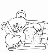 Bread Coloring Pages Yummy Little Momjunction sketch template