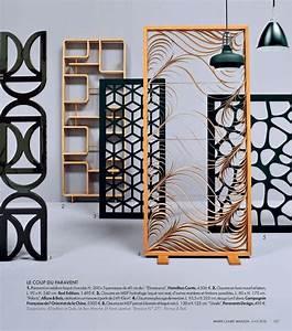 les paravents et claustras en bois pour votre interieur With panneau de separation interieur