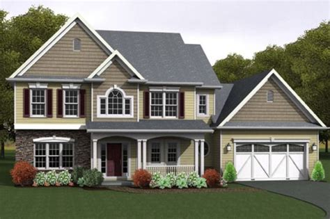 Craftsman Style House Plan 3 Beds 2 5 Baths 2261 Sq/Ft