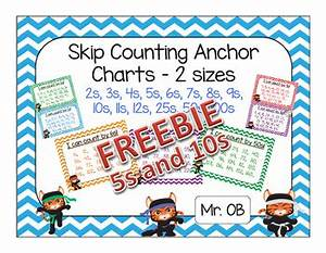 Counting Money Anchor Chart Skip Count By 5s And 10s Anchor Charts Freebie By Mr Ob