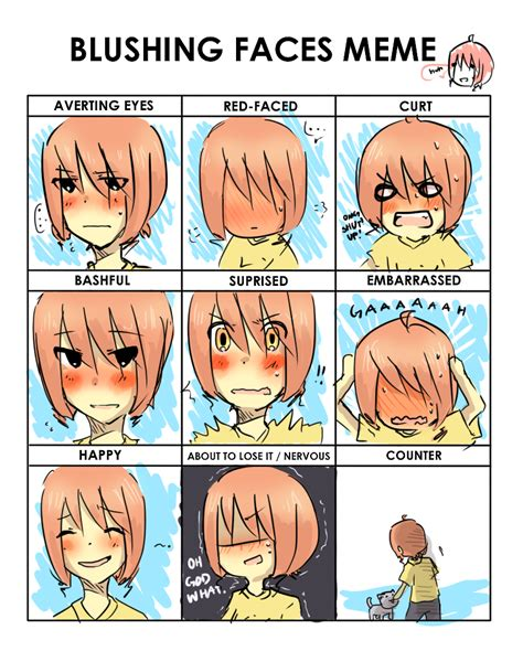 Blushing Memes - blushing meme 28 images blushing meme for blu by hararester on deviantart cute blushing