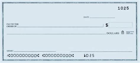 personal check template techchecks net resources