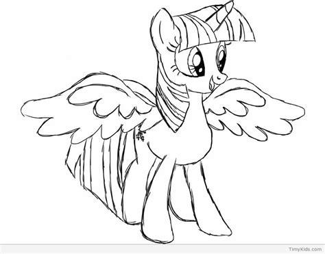 twilight sparkle pony ausmalbilder malvorlagen fuer kinder