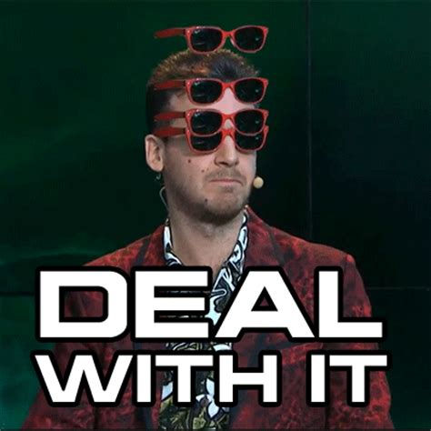 Deal With It Meme - funny animated gif