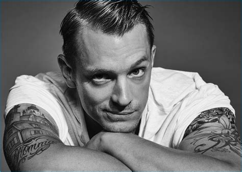 Joel Kinnaman Poses for The Laterals, Dishes on Preparing for Rick Flag Role