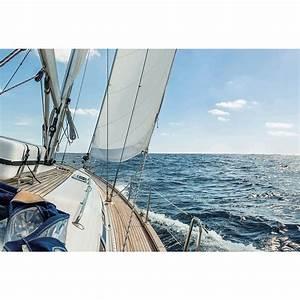 Tableau En Verre : tableau en verre balade en mer cocktail scandinave ~ Melissatoandfro.com Idées de Décoration