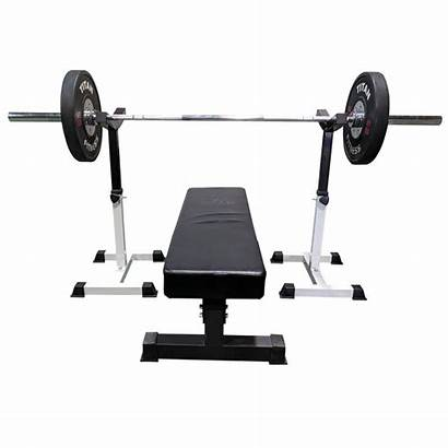 Bench Press Titan Spotter Stands Fitness Safely