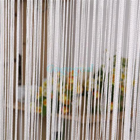 string door curtain fly screen divider room window decor