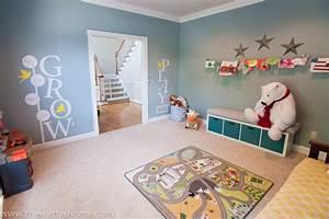 Living Room Turned Playroom - Project Nursery