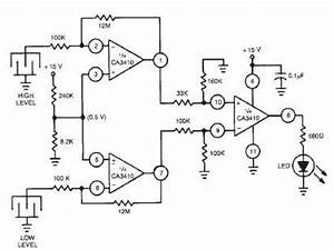 Dual level liquid sensor circuit design circuit diagram world for Make circuit diagram