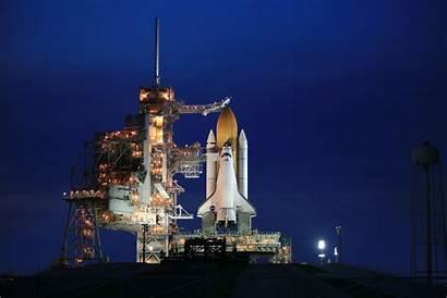 Pad Sts Atlantis Launch Nasa Night Shuttle