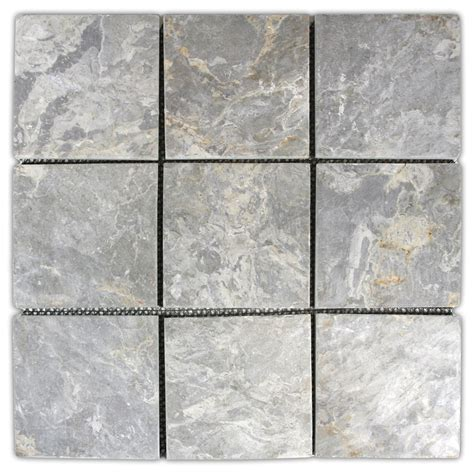 light grey 4 quot x 4 quot mosaic tile sqft great for