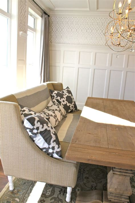 Settee For Dining Room Table by 17 Best Ideas About Settee Dining On Dinning