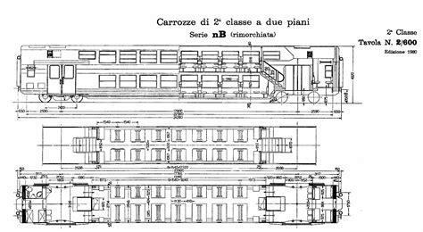 carrozze treni doppio piano parte 1 le tipo 1979 casaralta