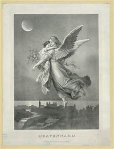 Flying Angel Carrying Baby Night | Free Images at Clker ...