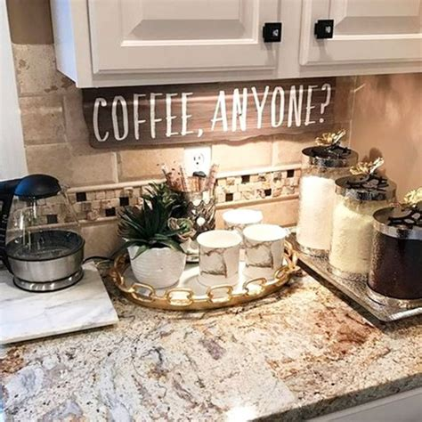 Decorating Ideas For Kitchen Bar by Kitchen Coffee Bars 30 Diy Kitchen Coffee Bar Ideas