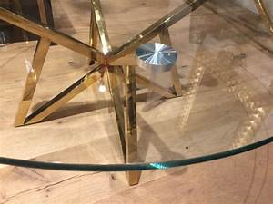 Couchtisch Gold Glas : runder couchtisch glas metall glastisch rund gold tisch rund durchmesser 100 cm ~ Whattoseeinmadrid.com Haus und Dekorationen