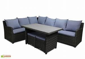 canape tresse exterieur cheap mobilier de jardin tress With beautiful canape d angle exterieur resine 4 salon de jardin avec fauteuil royal sofa idee de