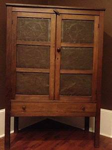 Antique Pie Safe Tin Panels - WoodWorking Projects & Plans