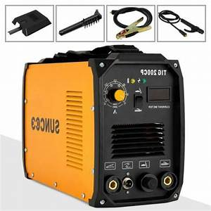 Tig 200a Welding Machine Dual Voltage 110v  220v Portable