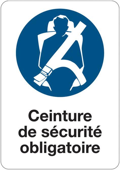 port de la ceinture obligatoire etiquette pour v 233 hicules ceinture de s 233 curit 233 obligatoire seton fr