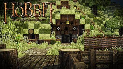 building  hobbit housevillage  minecraft modded minecraft part  youtube