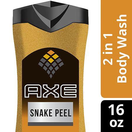 axe shower gel snake peel axe exfoliating wash snake peel walgreens