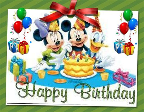 happy birthday disney gang happy birthday mickey mouse