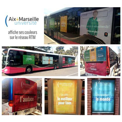bureau rtm marseille amu affiche ses couleurs sur le réseau rtm amu