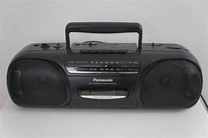 Panasonic Rx Fm Cassette Tape Recorder Player Portable Stereo Boombox U2026