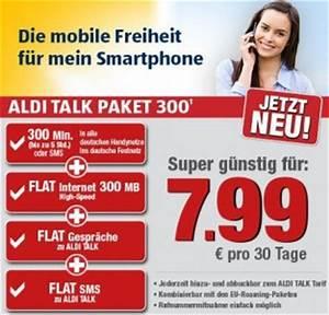 Aldi Talk Rechnung Einsehen : mobilfunktarife neues aldi talk paket f r 7 99 euro ~ Themetempest.com Abrechnung