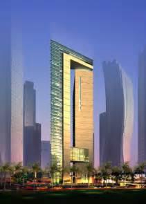 Futuristic Architecture Design Building