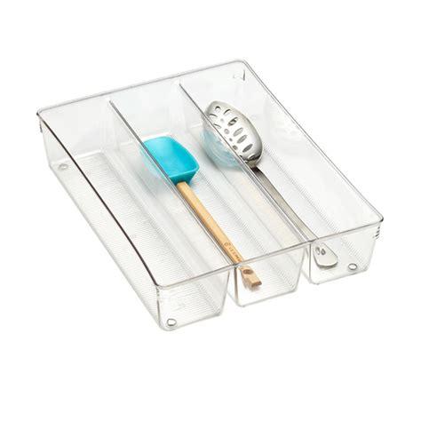 drawer organizer kitchen utensils interdesign linus utensil organizer the container 6955