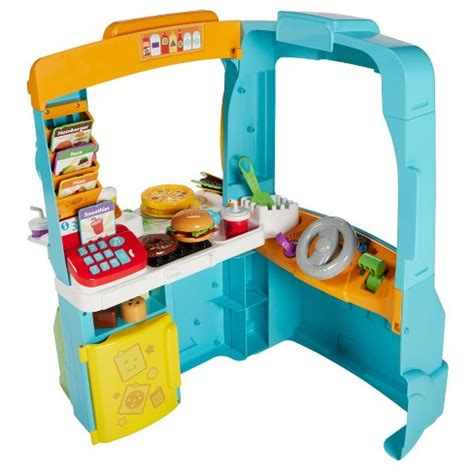 cuisine bilingue fisher price fisher price laugh and learn servin 39 up food truck