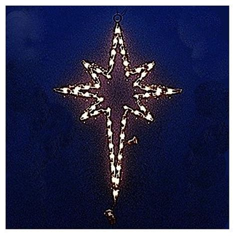 lighted star of bethlehem outdoor christmas decorations