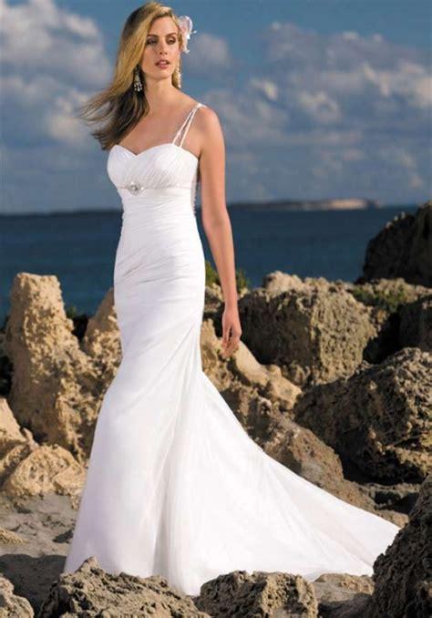 beachy wedding dress strapless and sleeveless white wedding dresses sang maestro
