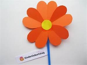 Blumen Aus Papier : blumen aus papier basteln anleitung f r die kindern ~ Udekor.club Haus und Dekorationen