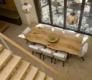 Table Bois Brut : salle manger table salle manger en bois brut super leading ~ Teatrodelosmanantiales.com Idées de Décoration